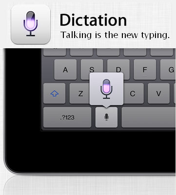 Dictation on iPad - GadgetGaul