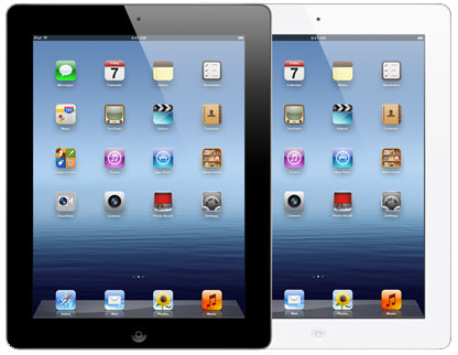 new iPad 3 with Retina display via GadgetGaul.com
