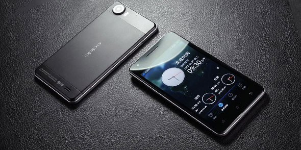 Oppo Finder - Ponsel Cerdas Android Tertipis di Dunia