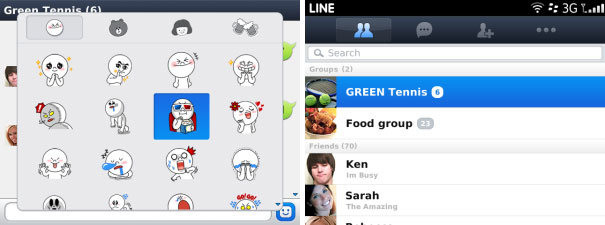 Line Screenshot 2 via GadgetGaul.com