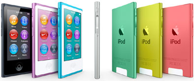 Apple iPod Nano 7th Gen via GadgetGaul.com