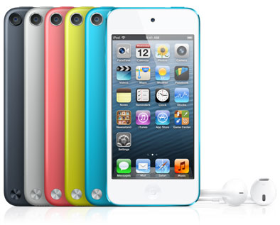 Apple iPod Touch 5th Gen via GadgetGaul.com