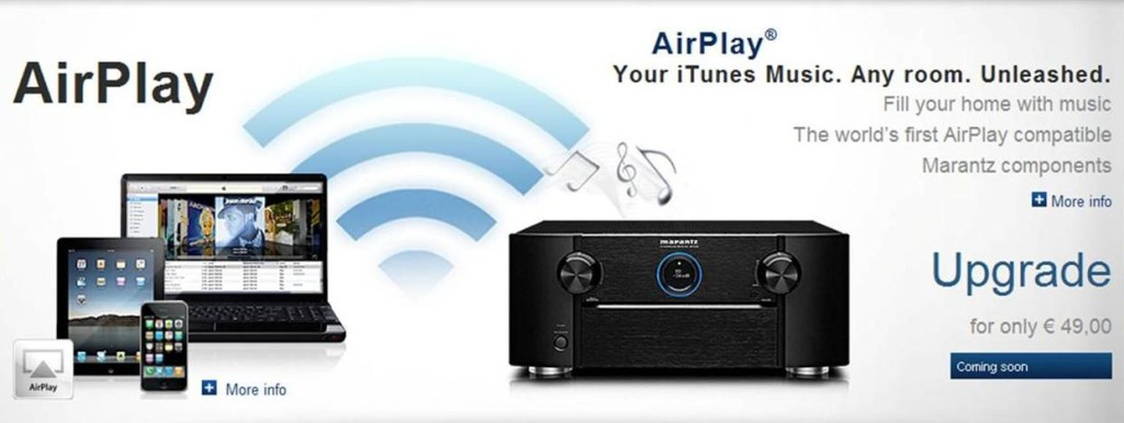 airplay available